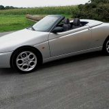 Alfa Romeo Spider 916 JTS-verkauft